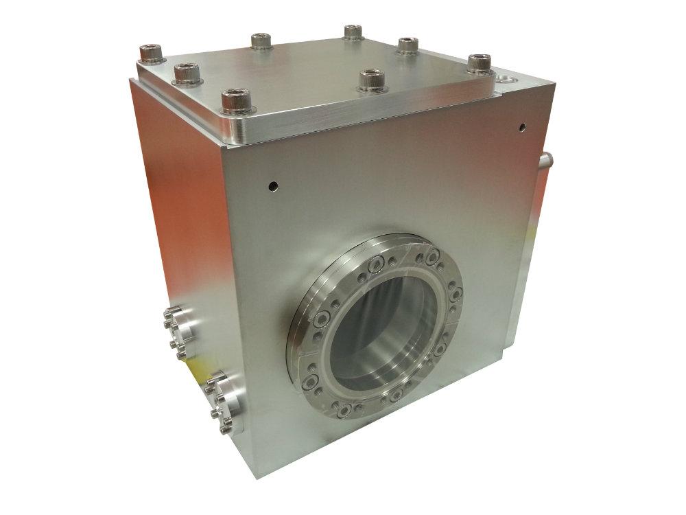 Vacuum Box ES 4 Emittance Scanner Dual CF Imperial